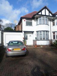 Thumbnail 3 bed semi-detached house to rent in Wheelers Lane, Kings Heath, Birmingham