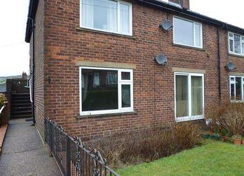 Thumbnail 2 bedroom flat for sale in Bridley Drive, Slaithwaite, Huddersfield