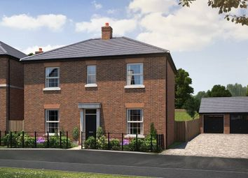 "Thumbnail 4 bed detached house for sale in ""Gloucester Georgian"" at Lutterworth Road, Rugby"