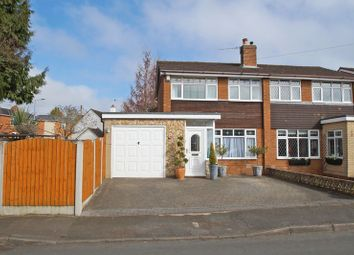 Thumbnail 3 bed semi-detached house for sale in Middleton Road, Bromsgrove