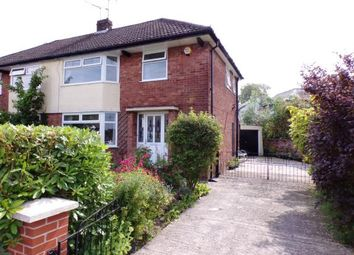 Thumbnail 3 bedroom semi-detached house for sale in Crossmoor Crescent, Romiley, Stockport, Greater Manchester