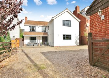Thumbnail 4 bed detached house for sale in Middle Road, Great Plumstead, Norwich