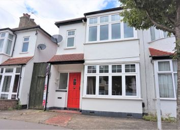 Thumbnail 3 bed terraced house to rent in Meadvale Road, Croydon
