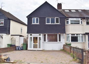 3 bed end terrace house for sale in Berwick Crescent, Sidcup, Kent DA15