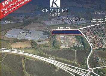 Thumbnail Land to let in Kemsley Park, Kemsley Field Business Park, Barge Way, Kemsley, Sittingbourne, Kent