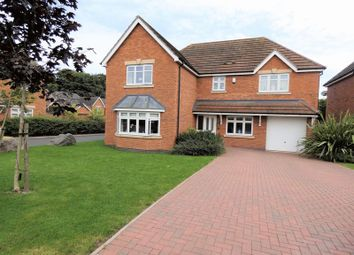 Thumbnail 5 bed detached house for sale in Boundary Close, Burton-On-Trent