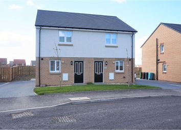 Thumbnail 2 bed semi-detached house for sale in Galashiels Avenue, Airdrie