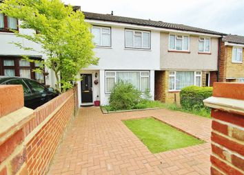 Thumbnail 3 bed terraced house to rent in Hillrise Road, Collier Row, Romford