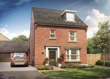 "Thumbnail 4 bedroom detached house for sale in ""Bayswater"" at Briggington, Leighton Buzzard"