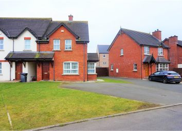 Thumbnail 3 bed town house for sale in Porter Crescent, Larne