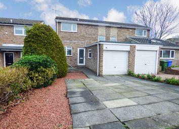Thumbnail 2 bed semi-detached house for sale in Totnes Drive, Cramlington