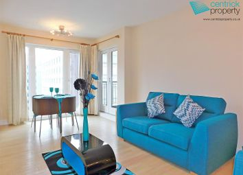 Thumbnail 1 bed flat to rent in Royal Arch Apartments, Wharfside Street, Birmingham
