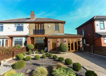 Thumbnail 4 bed semi-detached house for sale in Plodder Lane, Farnworth, Bolton, Greater Manchester
