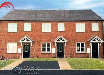 Thumbnail 3 bedroom end terrace house for sale in Rowley Street, Stafford