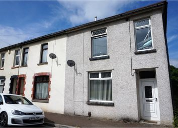 Thumbnail 3 bed end terrace house for sale in Landraw Road, Pontypridd