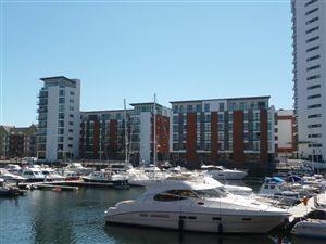 Thumbnail 2 bed flat to rent in Trawler Road, Maritime Quarter, Swansea