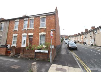 Thumbnail 2 bedroom end terrace house for sale in Crombey Street, Swindon