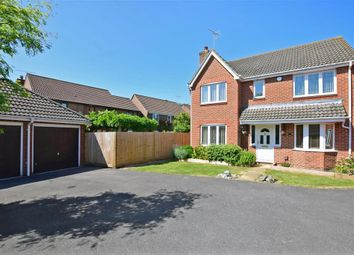 Thumbnail 4 bed detached house for sale in Creech View, Denmead, Waterlooville, Hampshire