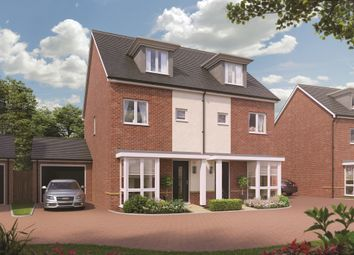Thumbnail 3 bedroom town house for sale in Broadmere Road, Beggarwood, Basingstoke