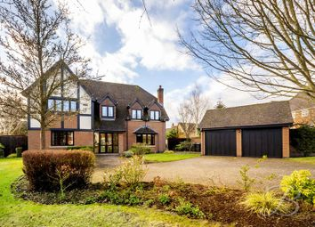 Thumbnail 5 bed detached house for sale in Fairfields Drive, Ravenshead, Nottingham