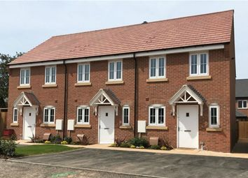 Thumbnail 2 bed town house for sale in Shuttleworth Close, Castle Donington, Derby, Derbyshire