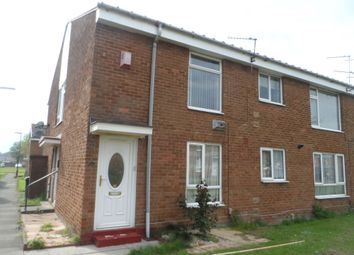 Thumbnail 1 bedroom flat to rent in Broxburn Close, Wallsend