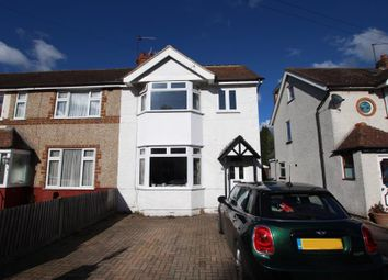 Thumbnail 3 bed end terrace house to rent in Hart Road, Byfleet, West Byfleet