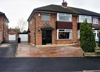 Thumbnail 3 bed semi-detached house to rent in Meadway, Bramhall