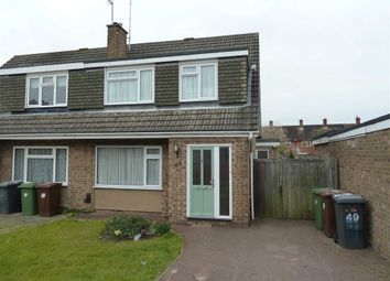 Thumbnail 3 bed semi-detached house to rent in Chandos Road, Borehamwood
