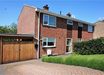 Thumbnail 3 bed semi-detached house for sale in King Richards Hill, Whitwick