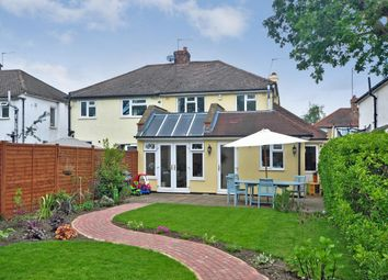 Thumbnail 4 bed semi-detached house to rent in Cleeve Road, Leatherhead