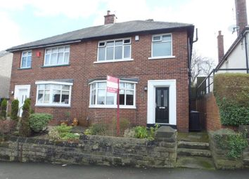 Thumbnail 3 bedroom semi-detached house for sale in Carfield Avenue, Meersbrook, Sheffield