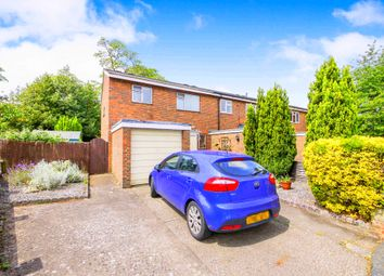 Thumbnail 3 bed end terrace house for sale in Templefield Close, Addlestone