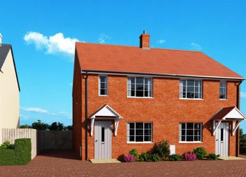 Thumbnail 2 bed semi-detached house for sale in Meadow Haze, Meadow View Close, Woodbury, Exeter