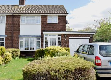 Thumbnail 3 bed semi-detached house for sale in Swallowdale, Kingswood