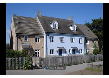 Thumbnail 3 bedroom terraced house to rent in Turing Court, Ipswich