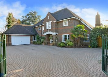 Thumbnail 5 bedroom detached house for sale in Stoke Road, Cobham
