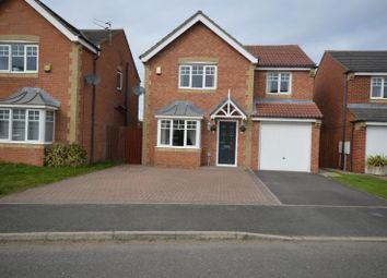 Thumbnail 4 bed detached house for sale in Faldo Drive, Ashington