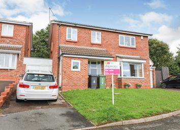 Thumbnail 2 bed semi-detached house for sale in Ganborough Close, Matchborough East, Redditch