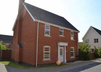 Thumbnail 4 bedroom detached house to rent in Elderflower Mews, Norwich