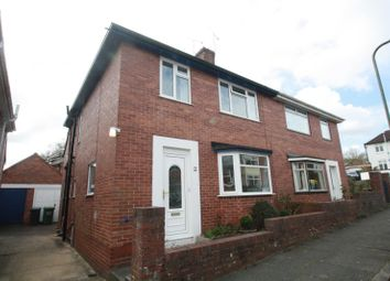 Thumbnail 3 bed semi-detached house to rent in Bonnington Grove, Heavitree, Exeter