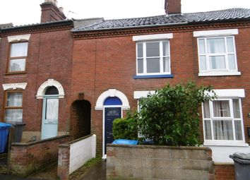 Thumbnail 2 bed terraced house to rent in Shipstone Road, Norwich