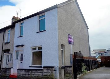 Thumbnail 3 bed end terrace house for sale in Primrose Street, Bangor