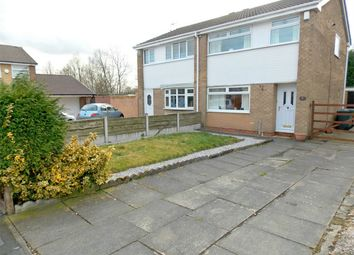 Thumbnail 3 bed semi-detached house for sale in Woodgarth, Leigh, Lancashire