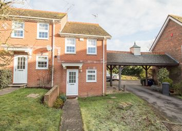 Thumbnail 2 bedroom end terrace house for sale in Harebell Close, Hartley Wintney, Hook