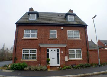 Thumbnail 5 bed detached house to rent in Pearl Brook Avenue, Stafford