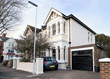 Thumbnail 4 bed semi-detached house for sale in Warwick Gardens, Worthing