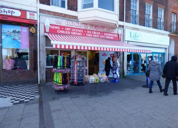 Thumbnail Retail premises for sale in The Esplanade, Weymouth, Dorset