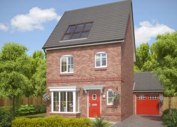 Thumbnail 4 bed detached house for sale in Rectory Lane, Standish, Wigan, Lancashire