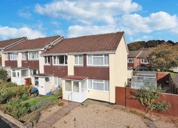 Thumbnail 3 bed end terrace house for sale in Davies Close, Silverton